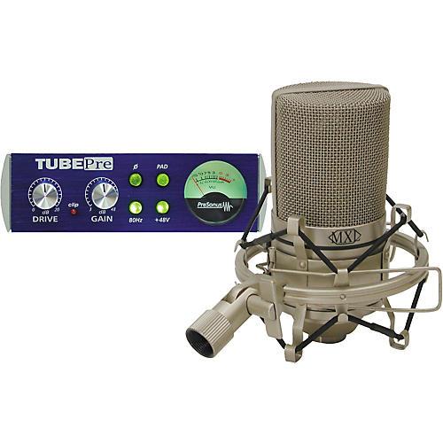 PreSonus TubePre & MXL990 Condenser Microphone