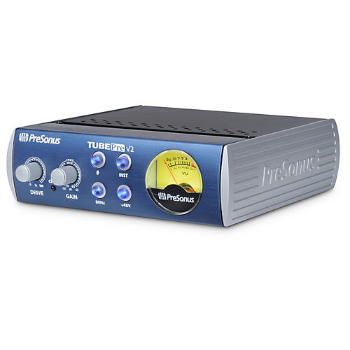 PreSonus TubePre V2 Single-Channel Tube Preamplifier/DI Box