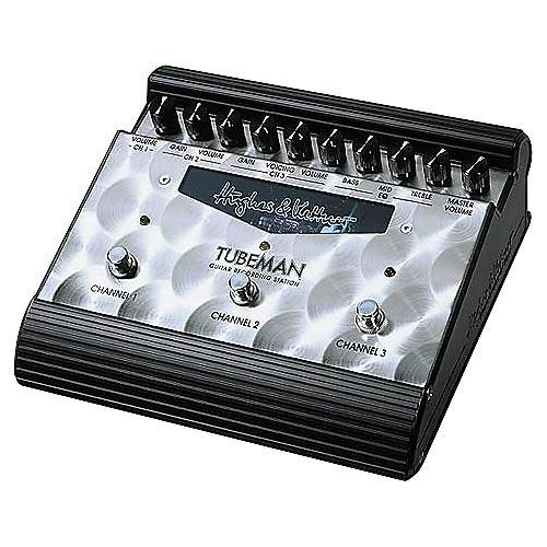 Hughes & Kettner Tubeman Tube-Driven 3-Channel Guitar Recording Station