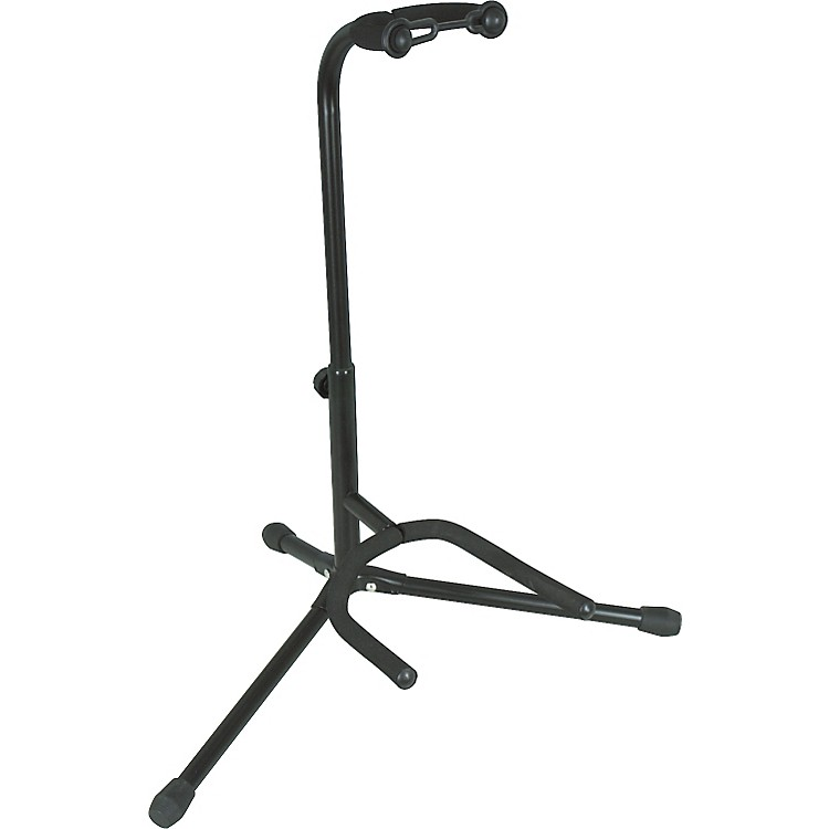 Musician's Gear Tubular Guitar Stand Black