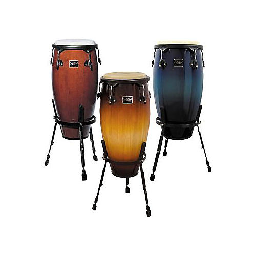 Schalloch Tumba with Stand Blue Fade 12 in.