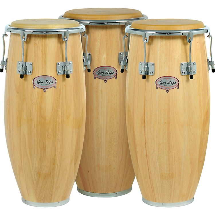 Gon Bops Tumbao Pro Series Quinto Conga Drum Natural