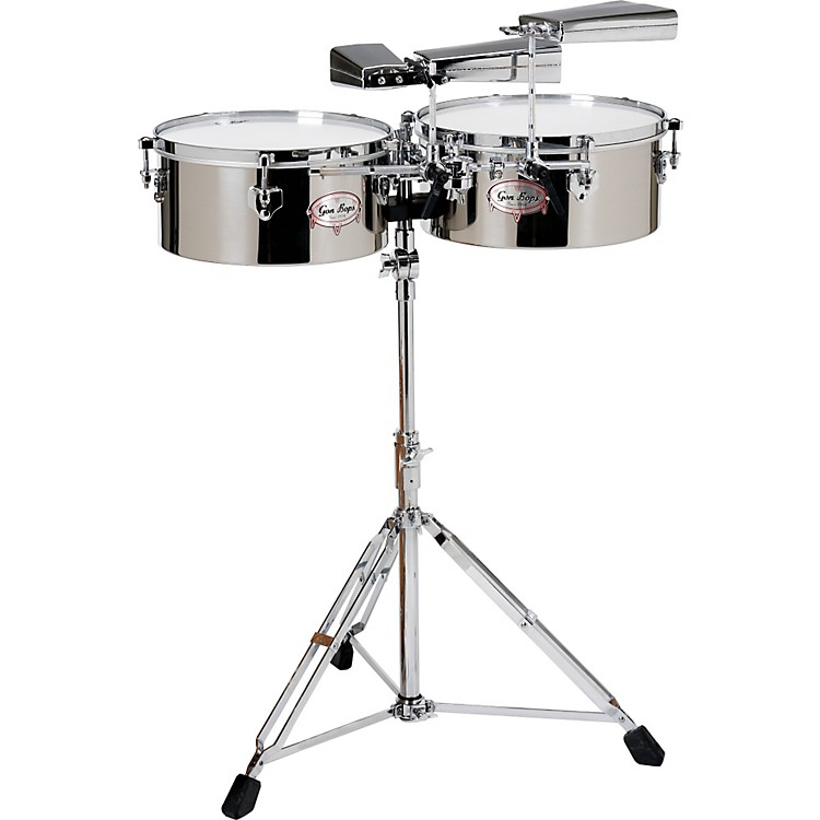 Gon Bops Tumbao Series Timbales Chrome/Steel