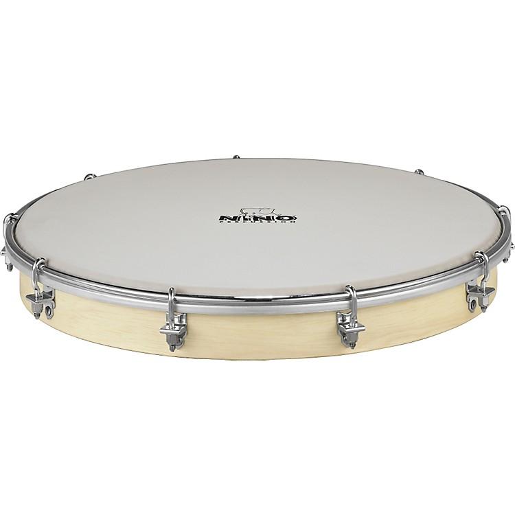 NinoTunable Nino Hand Drum with True Feel Synthetic HeadNATURAL12 inch