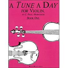 Music Sales Tune A Day Violin Book 1 By Herfurth