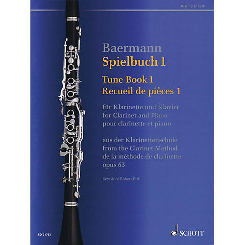 Schott Tune Book 1, Op. 63 Woodwind Solo Series Softcover-thumbnail