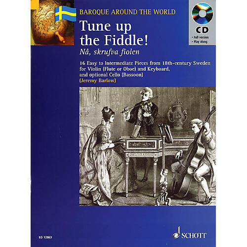 Schott Tune Up the Fiddle! (18th Century Pieces from Sweden) Misc Series Softcover with CD-thumbnail
