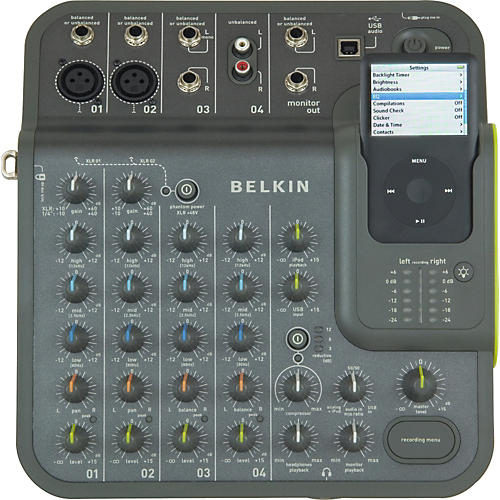 belkin tunestudio audio mixer for ipod musician 39 s friend. Black Bedroom Furniture Sets. Home Design Ideas