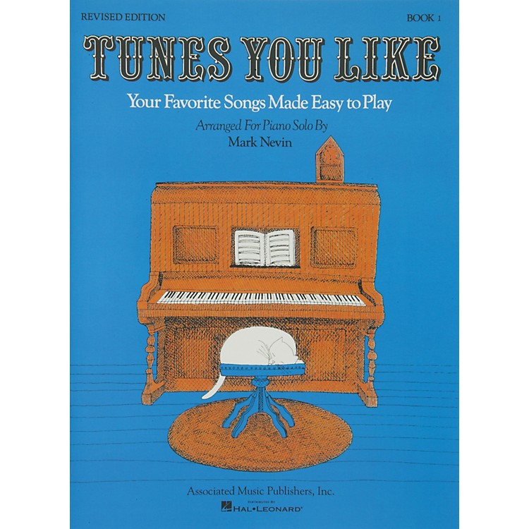 Music SalesTunes You Like Book 1 - Favorite Songs Made Easy Piano Solos Revised Edition By Nevin