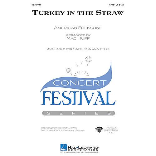 Hal Leonard Turkey in the Straw SATB arranged by Mac Huff-thumbnail