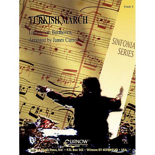 Curnow Music Turkish March (Grade 3 - Score Only) Concert Band Level 3 Arranged by James Curnow