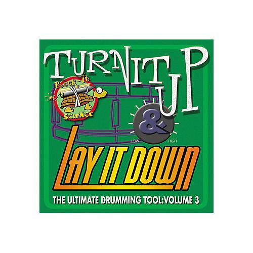 RhythmTech Turn It Up Lay It Down Volume 3 Rock It Science (CD)