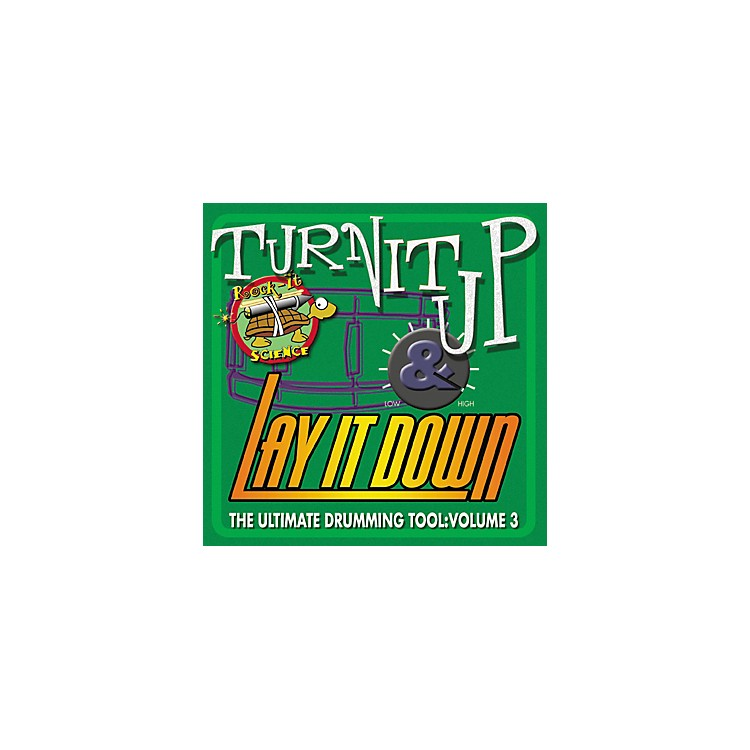 RhythmTech Turn It Up Lay It Down Volume 3 Rock It Science (CD)