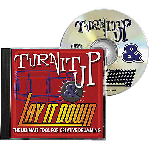 Drum Fun Inc Turn It Up and Lay It Down, Volume 1 - Play Along CD for Drummers-thumbnail