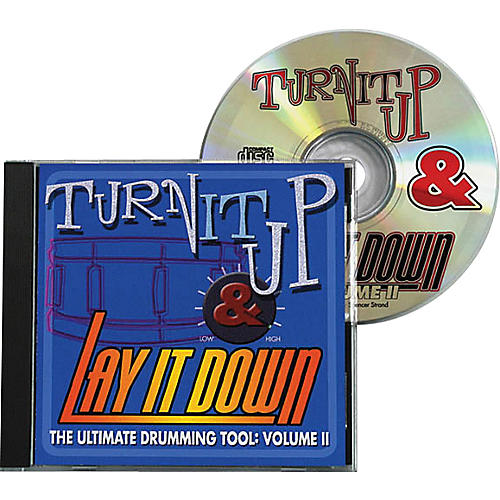 Drum Fun Inc Turn It Up and Lay It Down, Volume 2 - Play Along CD for Drummers-thumbnail