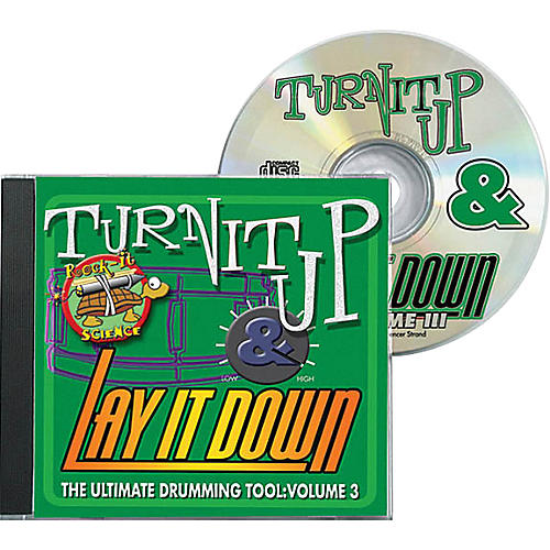 Drum Fun Inc Turn It Up and Lay It Down, Volume 3 - Rock-It Science - Play Along CD for Drummers-thumbnail