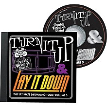 Drum Fun Inc Turn It Up and Lay It Down, Volume 5 - Double Pedal Metal - Play Along CD for Drummers