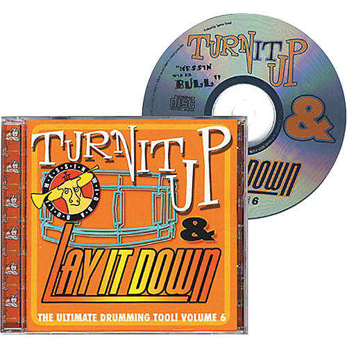 Drum Fun Inc Turn It Up and Lay It Down, Volume 6 - Messin' Wid Da Bull - Play Along CD for Drummers-thumbnail