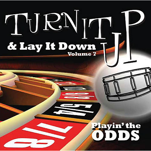 Drum Fun Inc Turn It Up and Lay It Down, Volume 7 Playin' The Odds Play Along CD for Drummers-thumbnail