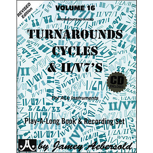 Jamey Aebersold Turnarounds, Cycles, and II/V7's Volume 16 Book and CD-thumbnail