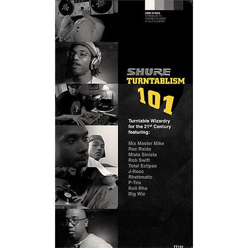 Shure Turntablism 101 Video-thumbnail