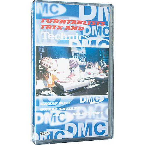 DMC Turntablist, Trix and Technics VHS Video