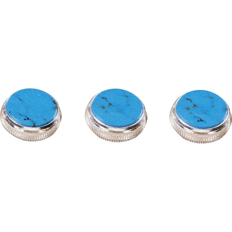 Bach Turquoise Trumpet Finger Buttons 3-Pack