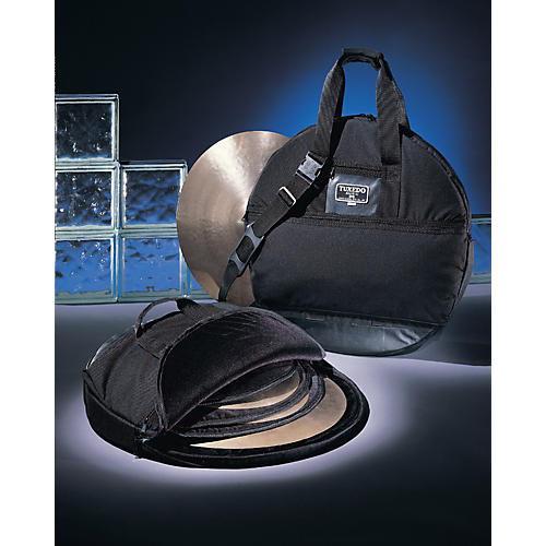 Humes & Berg Tuxedo Cymbal Bag with Dividers Black 22 in.