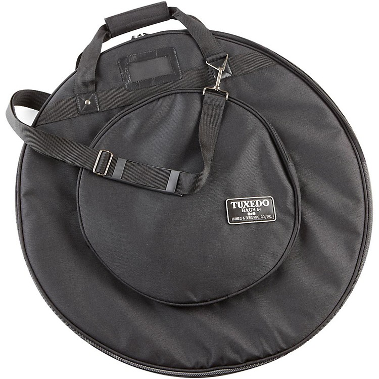 Humes & Berg Tuxedo Cymbal Bag with Shoulder Strap Black 22 Inch