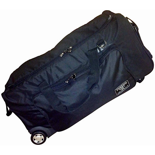 Humes & Berg Tuxedo Tilt-N-Pull Companion Bag Black 45x14.5