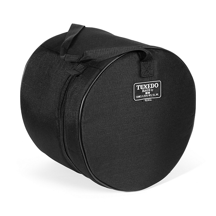Humes & Berg Tuxedo Tom Drum Bag Black 10x12