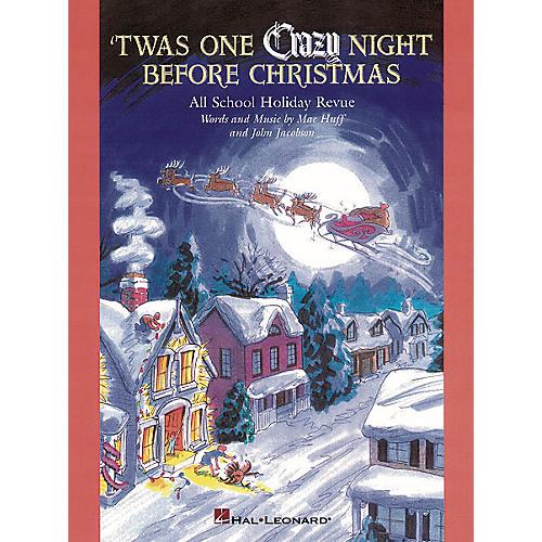 Hal Leonard 'Twas One Crazy Night Before Christmas (Musical) Singer 5 Pak Composed by John Jacobson-thumbnail