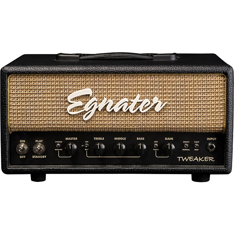 Egnater Tweaker 15W Tube Guitar Amp Head Black/Beige