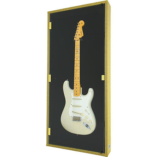 Display and Play Tweed '59 Electric Guitar Display Case