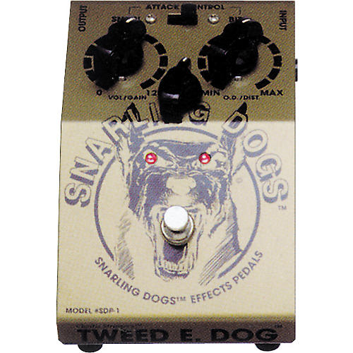 Snarling Dogs Tweed E Dog Vintage American Tube Emulator Pedal-thumbnail