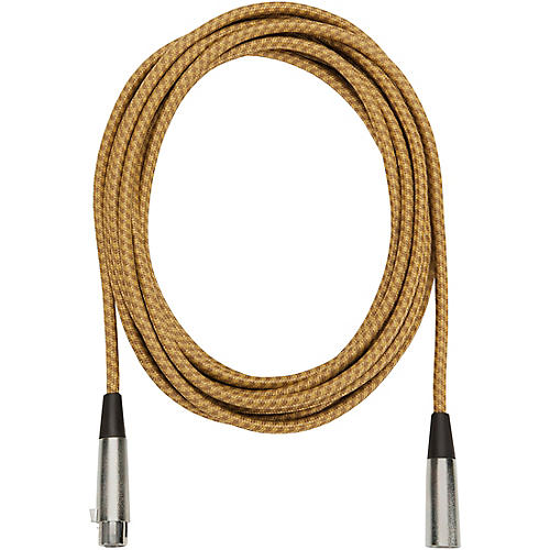 Musician's Gear Tweed Lo-Z Woven XLR Mic Cable-thumbnail