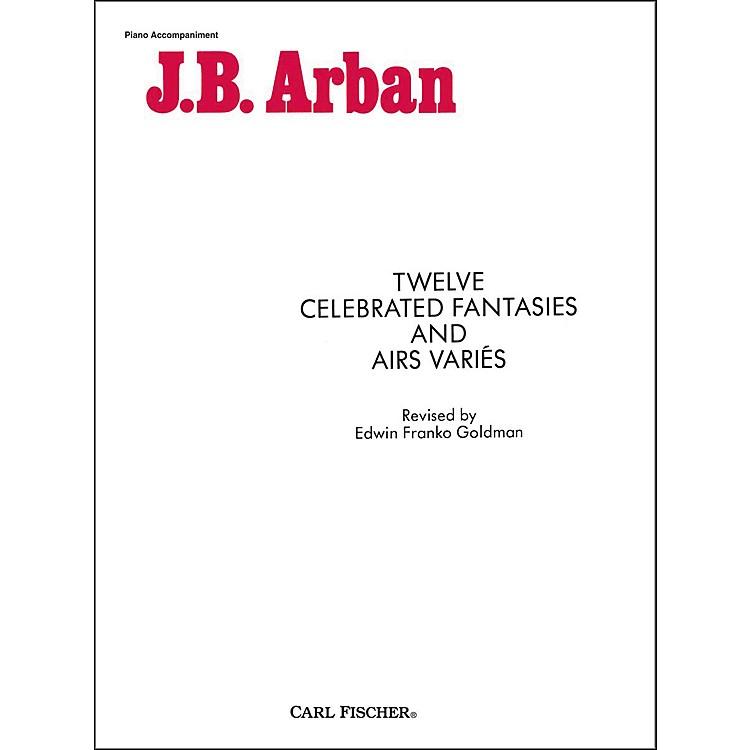 Carl FischerTwelve Celebrated Fantasies And Airs Varies