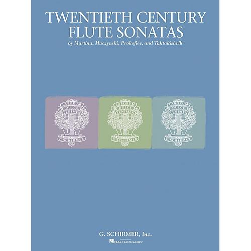 G. Schirmer Twentieth Century Flute Sonata Collection Woodwind Solo Series-thumbnail