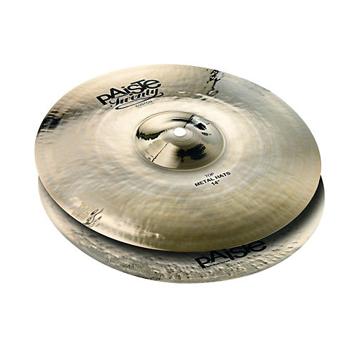 Paiste Twenty Custom Collection Metal Hats (Pair) 14 Inch