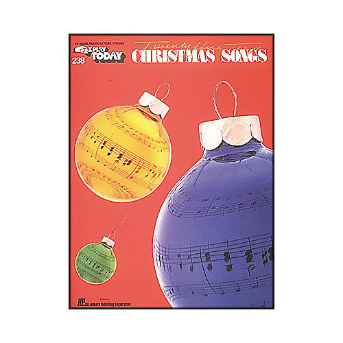Hal Leonard Twenty Five Top Christmas Songs E-Z Play 238