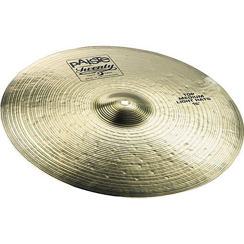 Paiste Twenty Medium Light Hi-Hat Cymbals-thumbnail