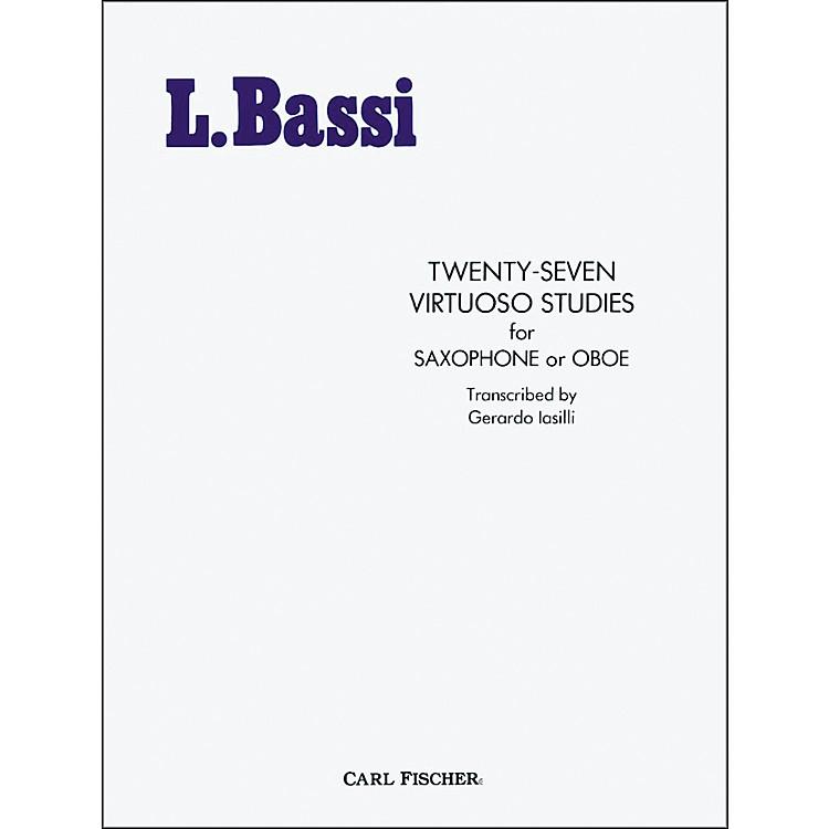 Carl FischerTwenty-Seven Virtuoso Studies