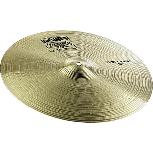 Paiste Twenty Thin Crash Cymbal-thumbnail