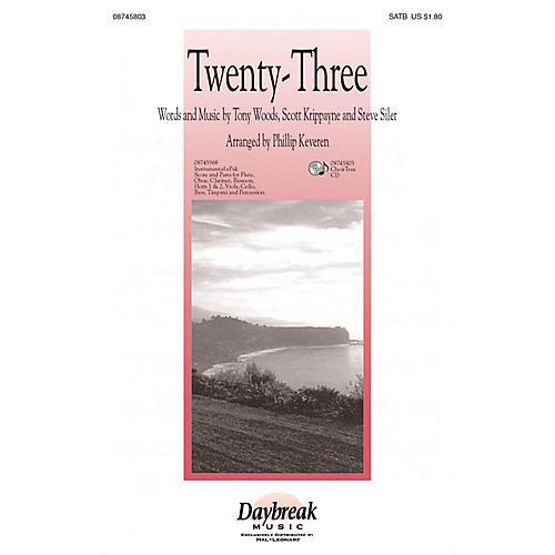 Daybreak Music Twenty-Three (The Lord Is My Shepherd) CHOIRTRAX CD Arranged by Phillip Keveren-thumbnail