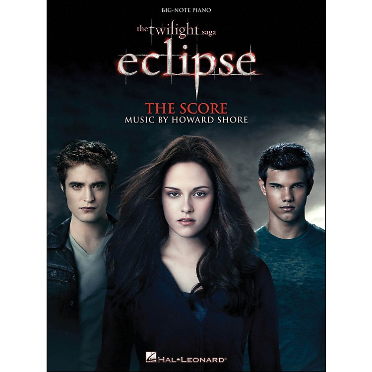Hal Leonard Twilight: Eclipse - Music From The Motion Picture Score for Big Note Piano