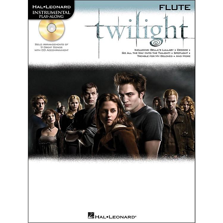 Hal LeonardTwilight For Flute - Music From The Soundtrack - Instrumental Play-Along Book/CD Pkg