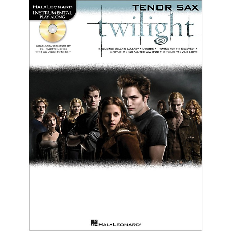 Hal Leonard Twilight For Tenor Sax - Music From The Soundtrack - Instrumental Play-Along Book/CD Pkg