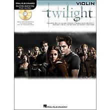 Hal Leonard Twilight For Violin - Music From The Soundtrack - Instrumental Play-Along Book/CD Pkg