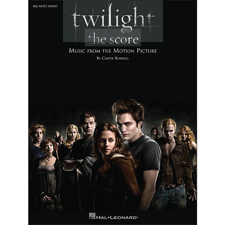 Hal LeonardTwilight Music From The Motion Picture Score for Big Note Piano
