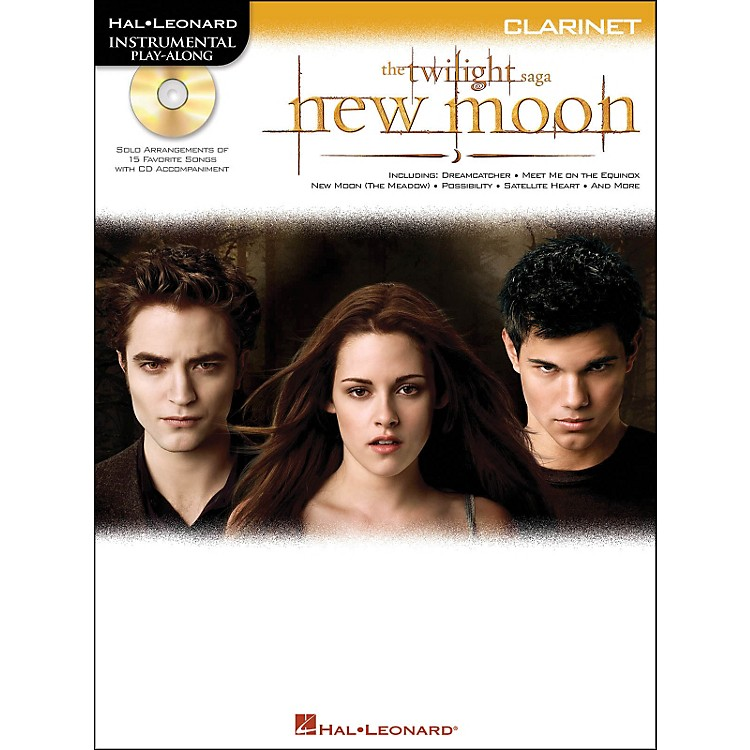 Hal LeonardTwilight: New Moon for Clarinet - Instrumental Play-Along CD/Pkg